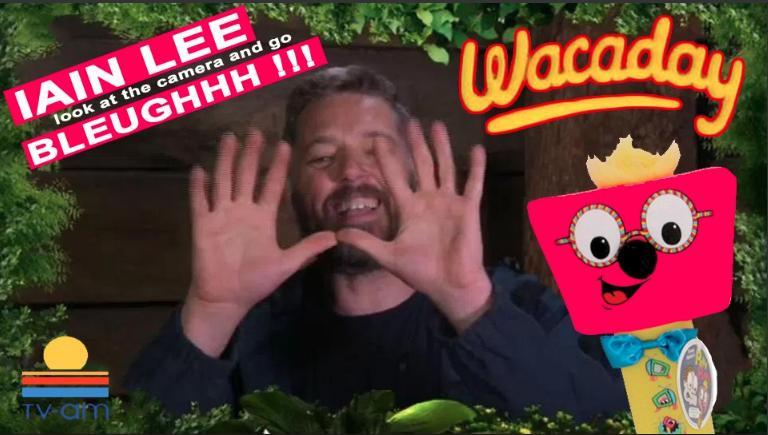 I'm A Celebrity secret hand gestures