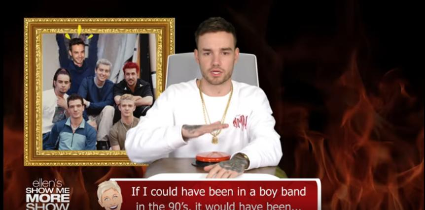 Liam Payne Answers Ellen's Burning Questions