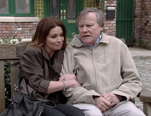 Roy and Carla, Coronation Street