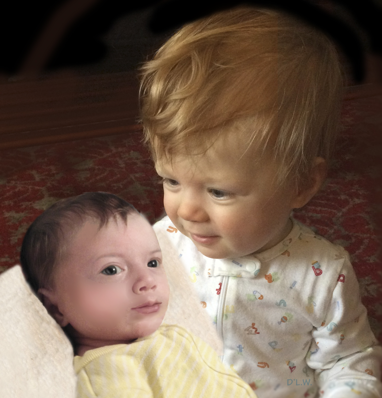 What Meghan and Harry's babies would look like