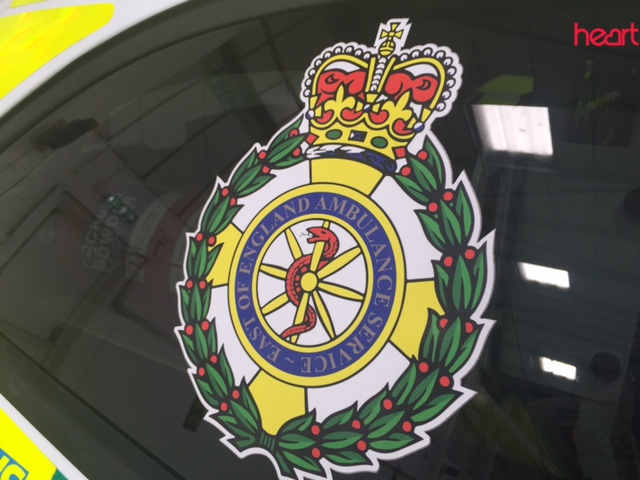 East of England Ambulance badge
