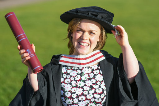 Ellie Simmonds Hononary Degree