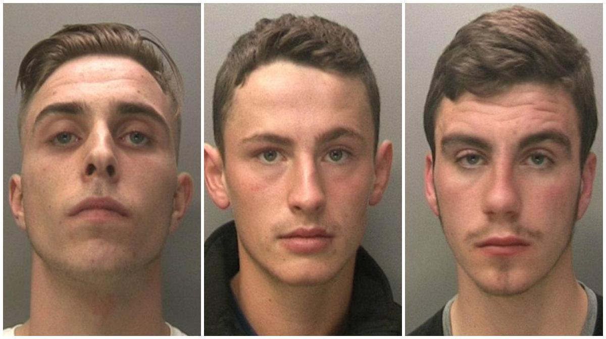 Jake Cairns , Brandon Sharples, Jack McInally