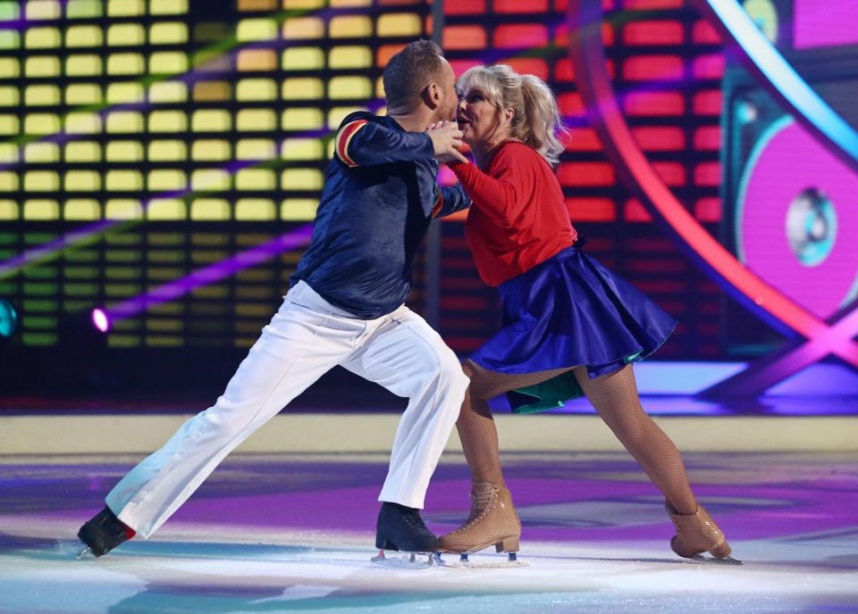 Dancing On Ice Cheryl Baker 2