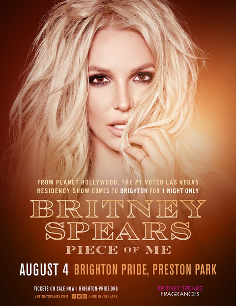 Britney Spears Brighton Pride