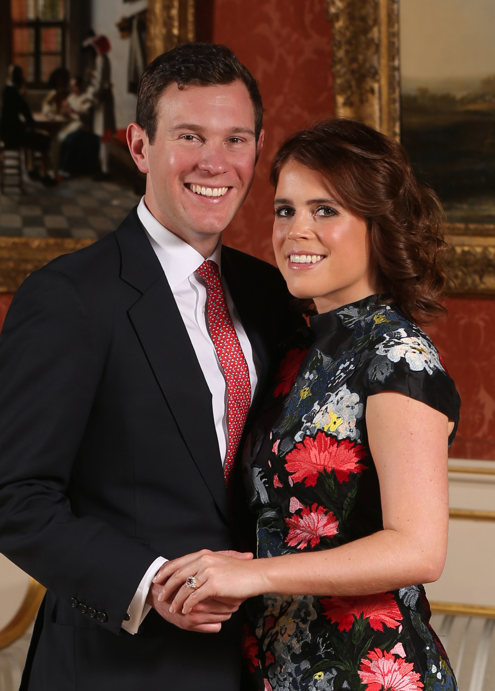 Princess Eugenie and Jack Brooksbank engaged