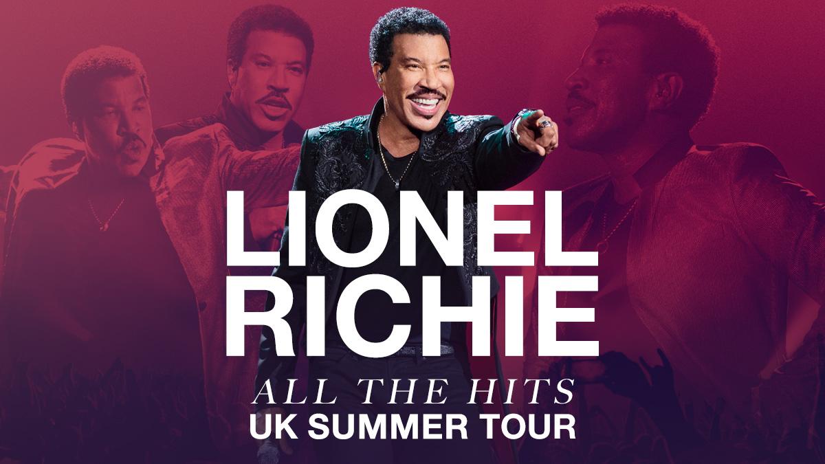 Lionel Richie UK Tour (Embargo)