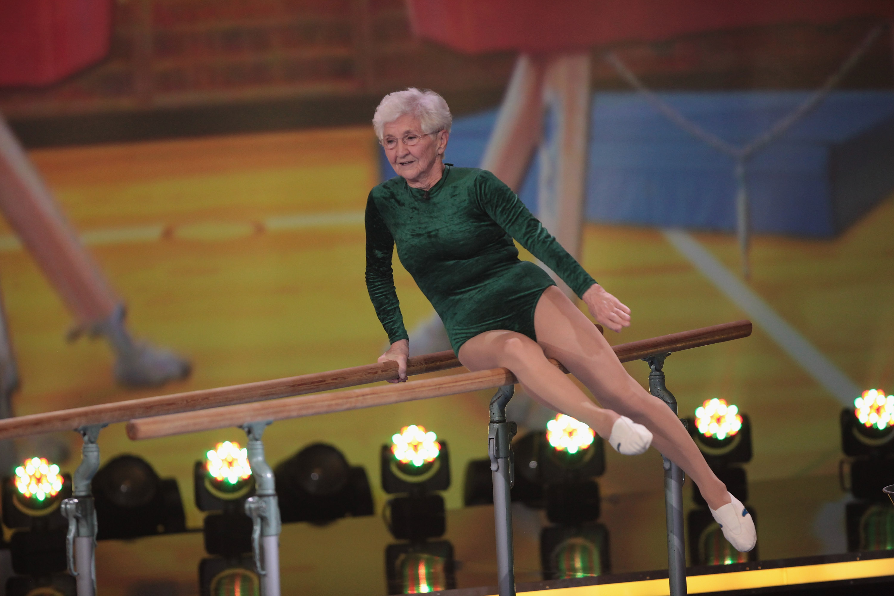 91 Year Old Gymnast Johanna Quaas