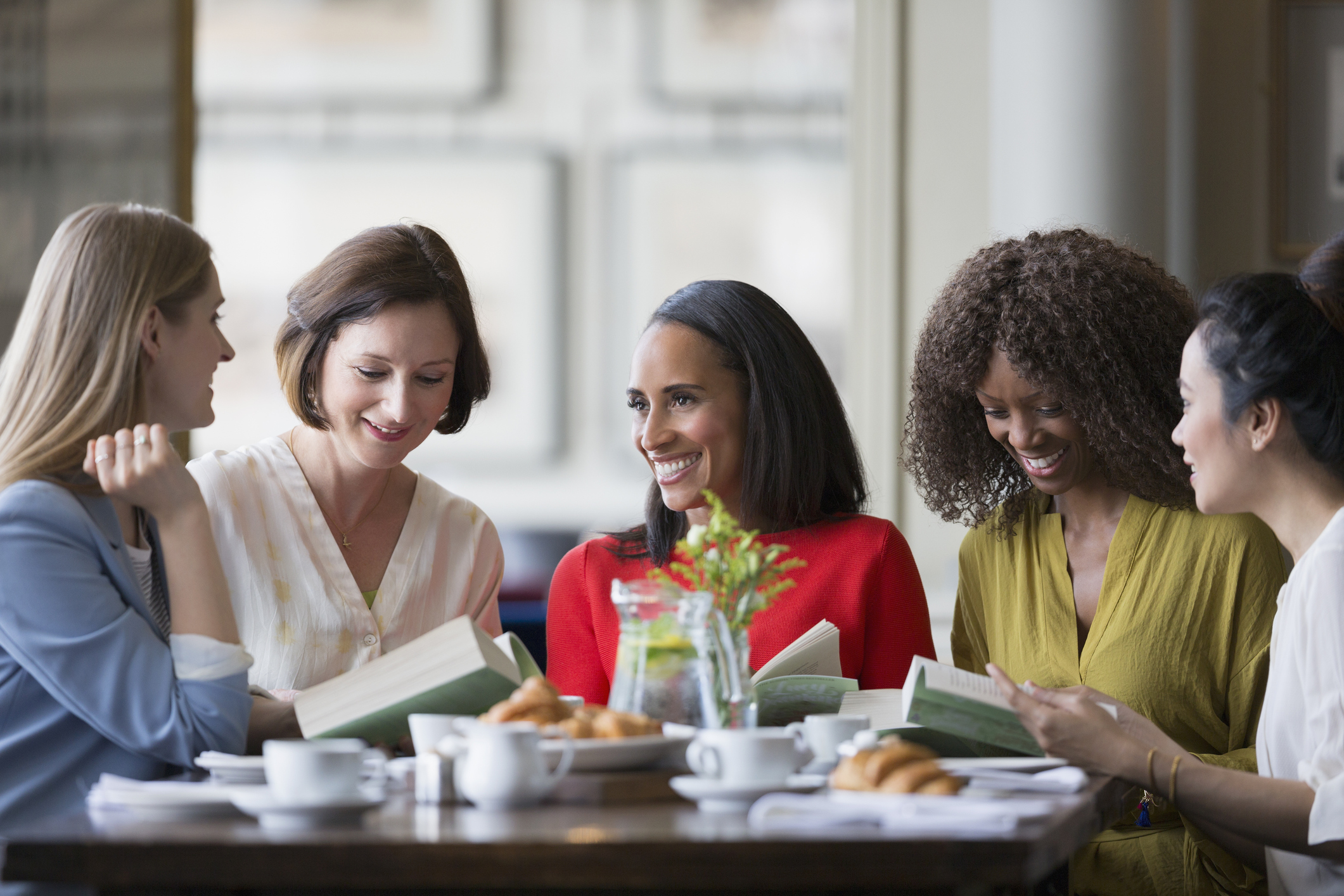Ladies in a book club