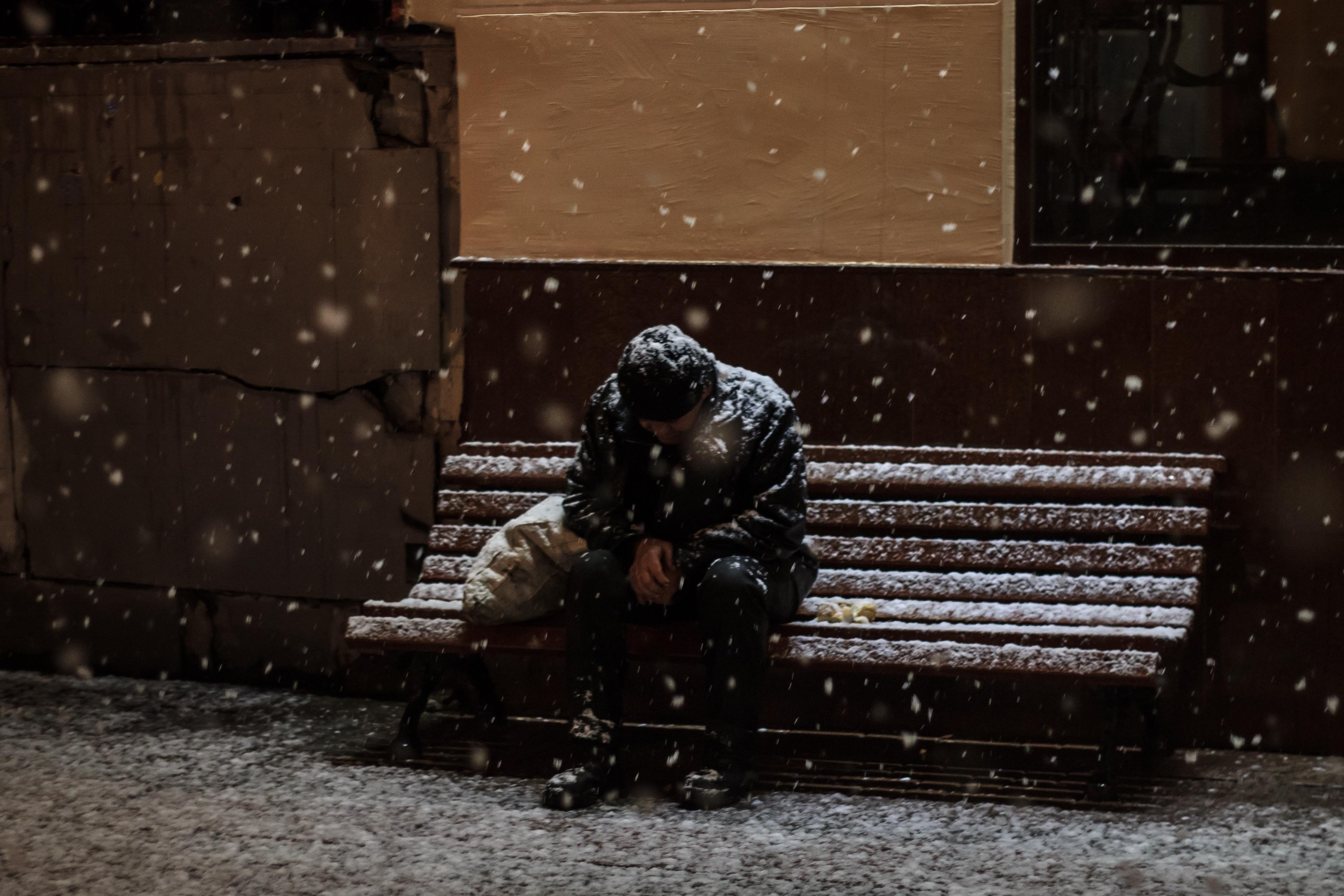 Homeless Snow