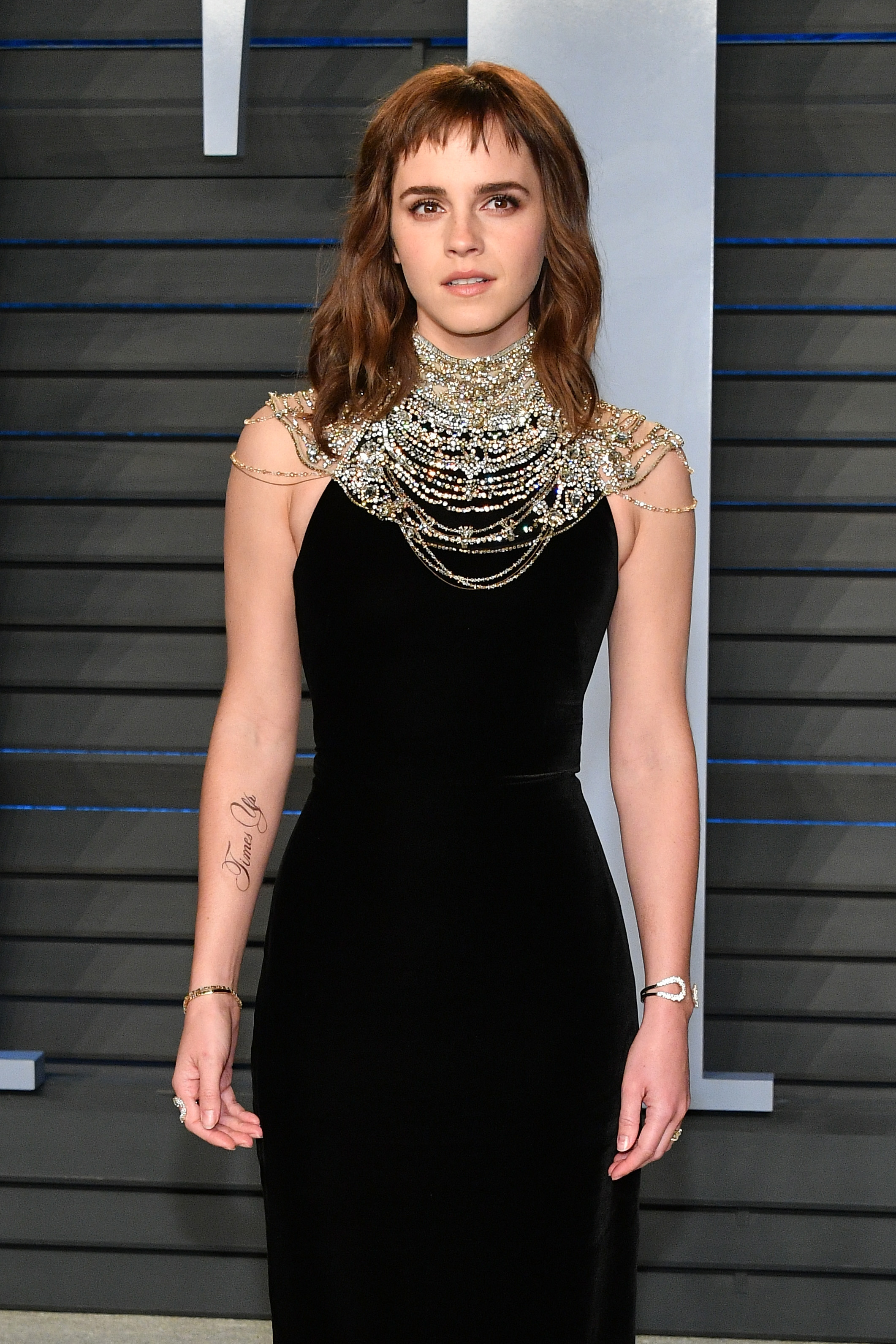 Little Berry Emma Watson Reacts To Her Recent Tattoo Blunder In The