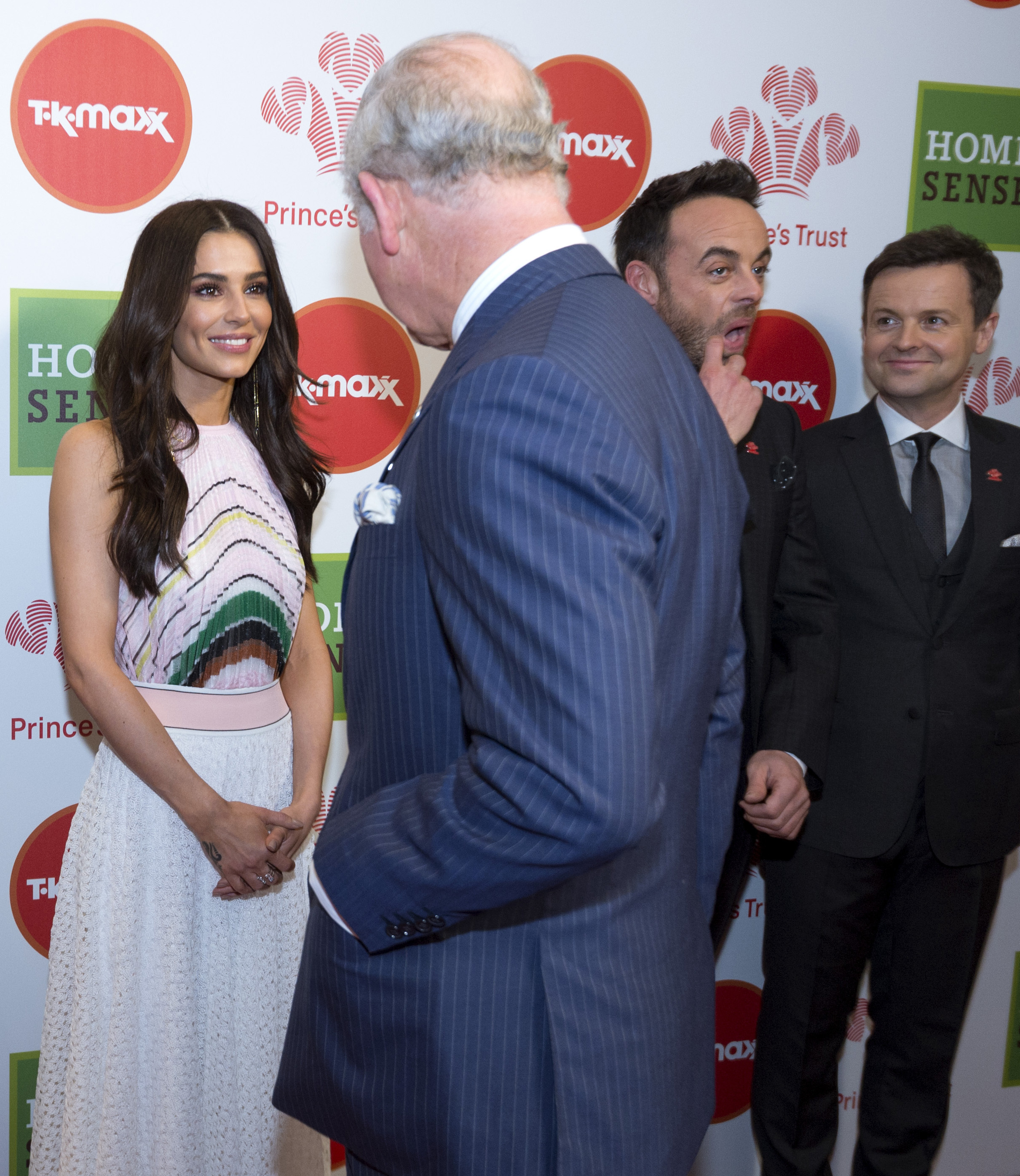 Prince Charles and Cheryl Prince's Trust Awards