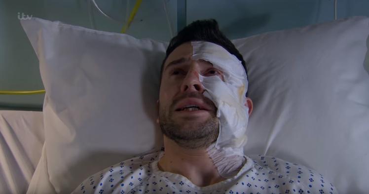Ross Emmerdale Acid Attack