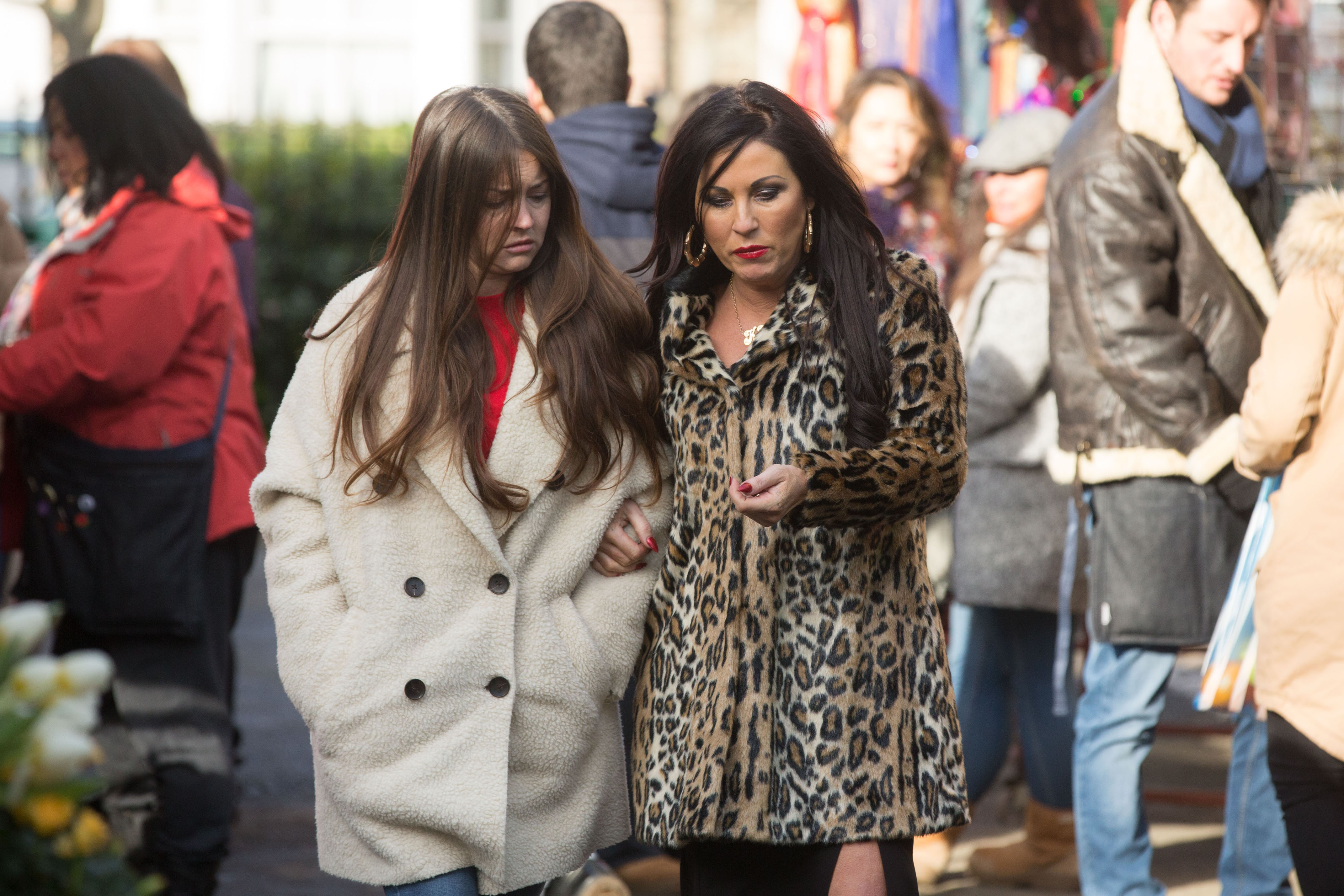 Kat and Stacey Slater - Eastenders