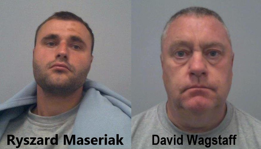 Lorry drivers jailed after fatal M1 crash