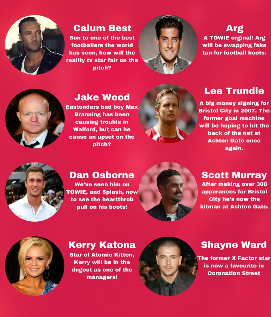 Celeb Football 18 - Players Update