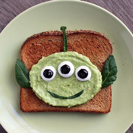 Toy Story Alien Toast
