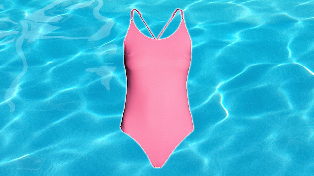 H&M pink swimsuit
