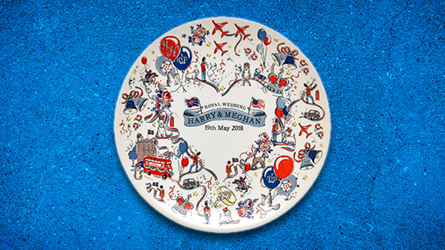 Royal Wedding Plate