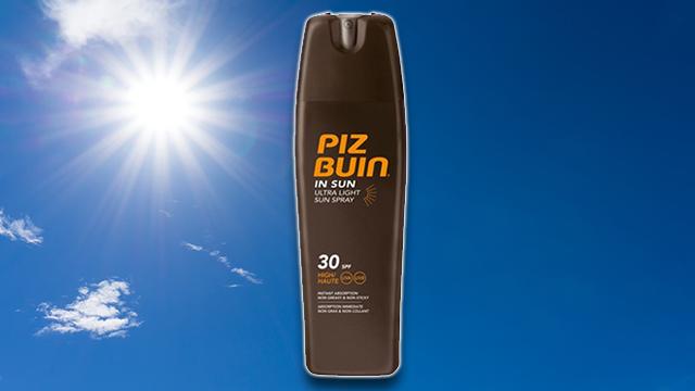 Piz Buin Suncream