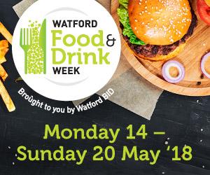 Watford Food & Drink Week 2018