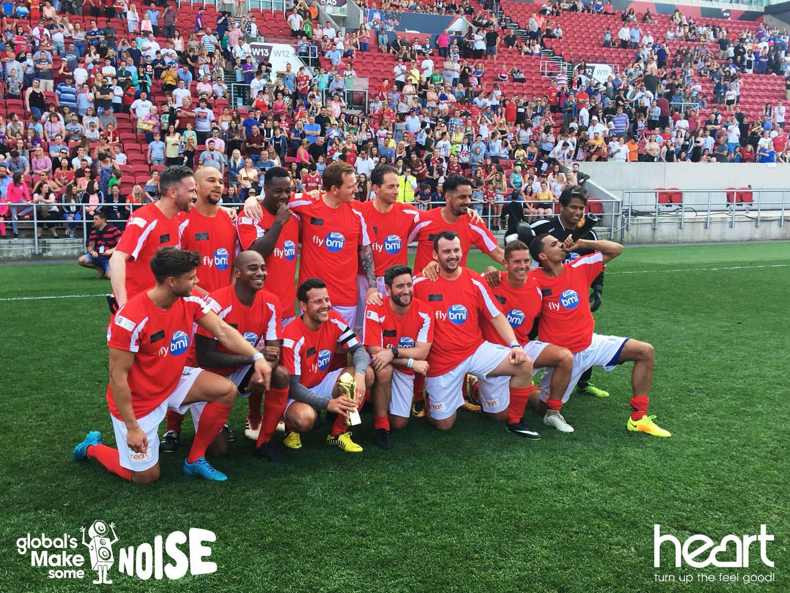 Celeb Football 18 - winning team