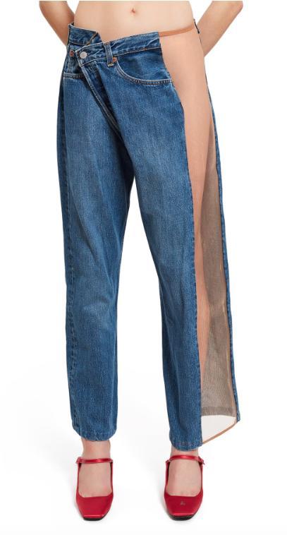 Mesh Jeans