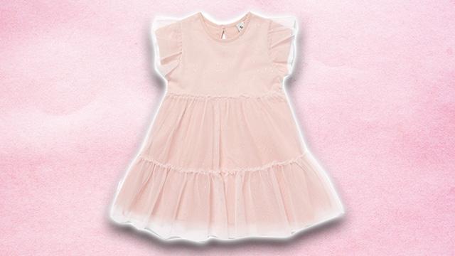 Pink kids summer dress 3