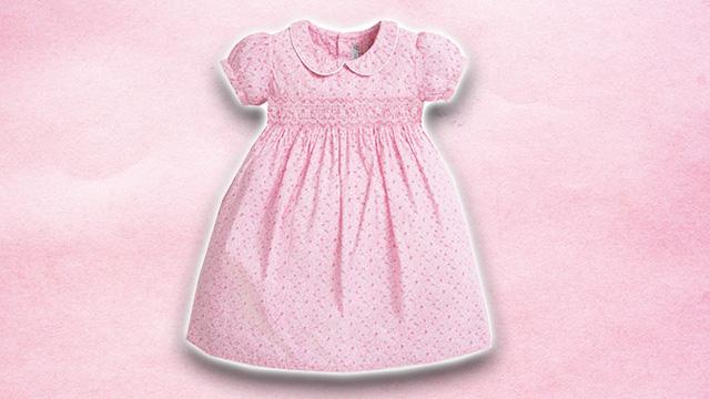 Pink kids summer dress 4
