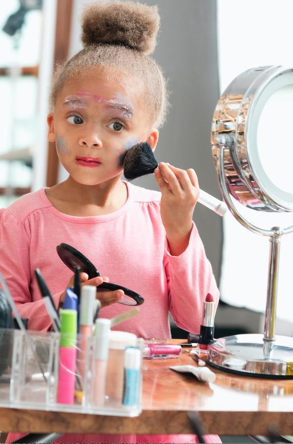 Kids in makeup 2