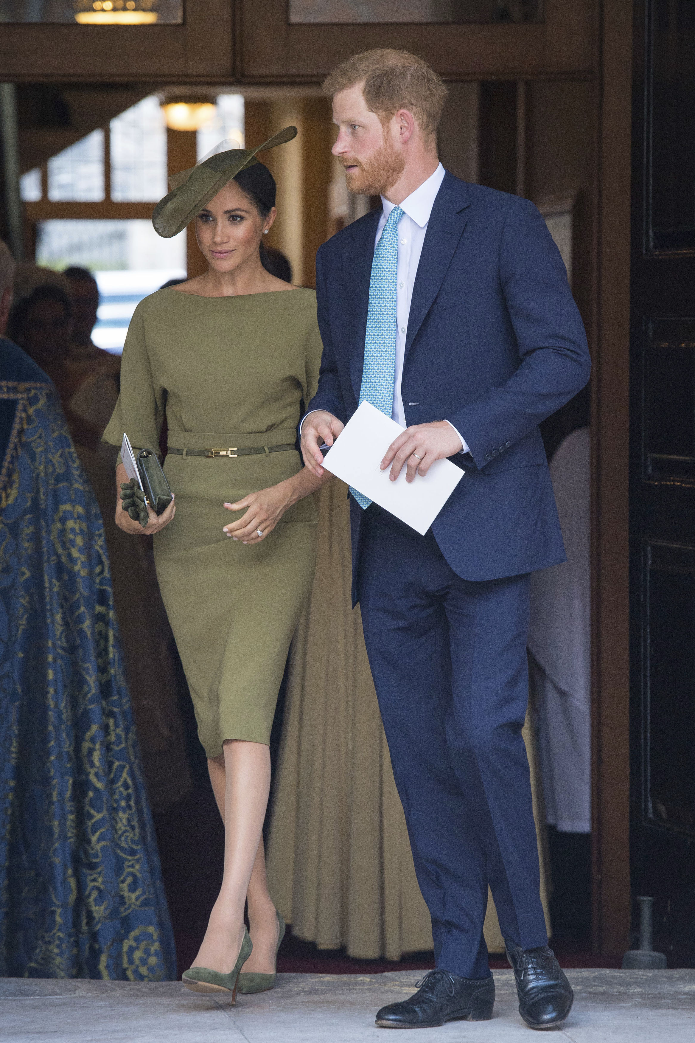 Meghan Markle Prince Louis christening