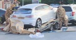 Car seized in Swindon
