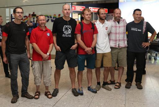 UK Thailand Cave Rescuers