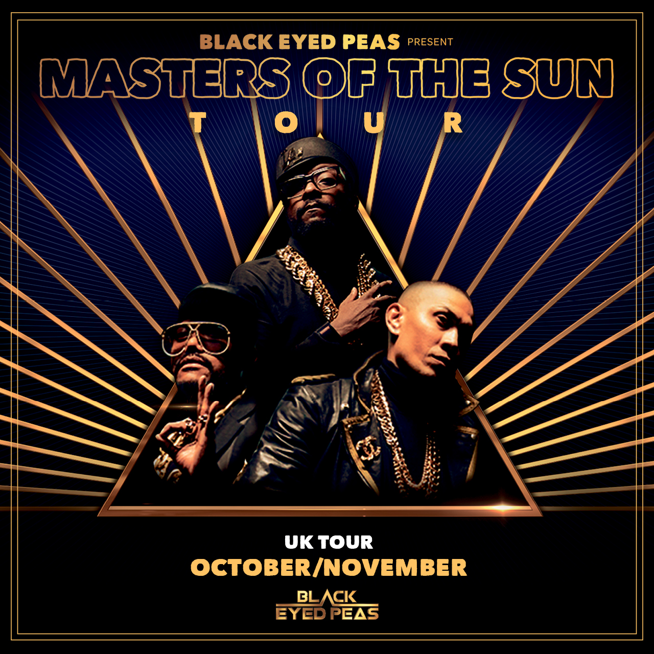 Black Eyed Peas Masters of the Sun