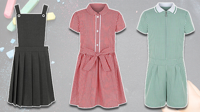 Asda school dresses