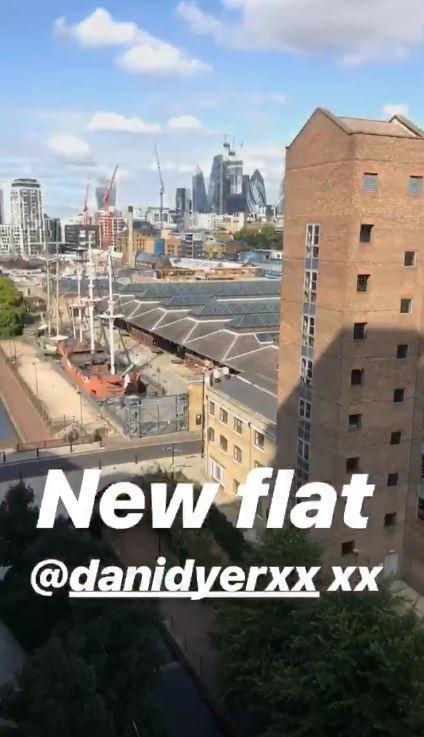 Dani and Jack new flat