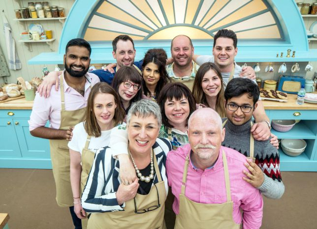 GBBO 2018 line up