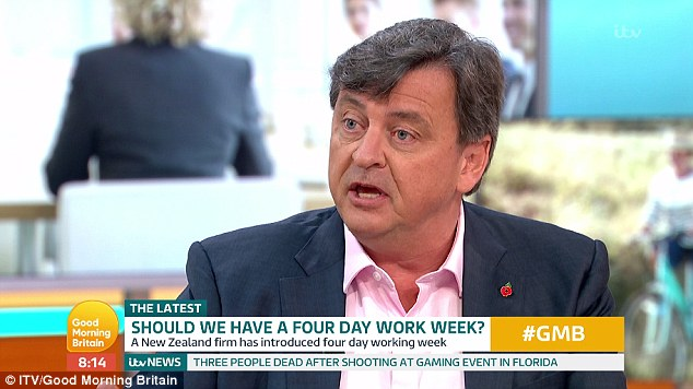 four day work week, good morning Britain