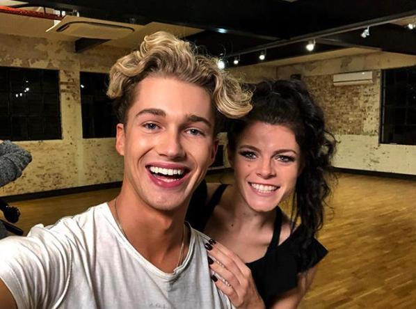 AJ Pritchard and Lauren Steadman