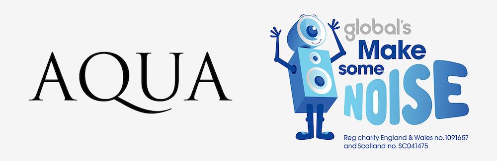 Aqua & GMSN Logos
