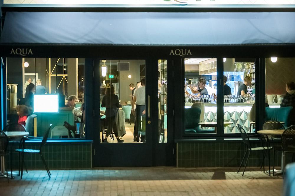 Aqua Restaurant Lewes - Front