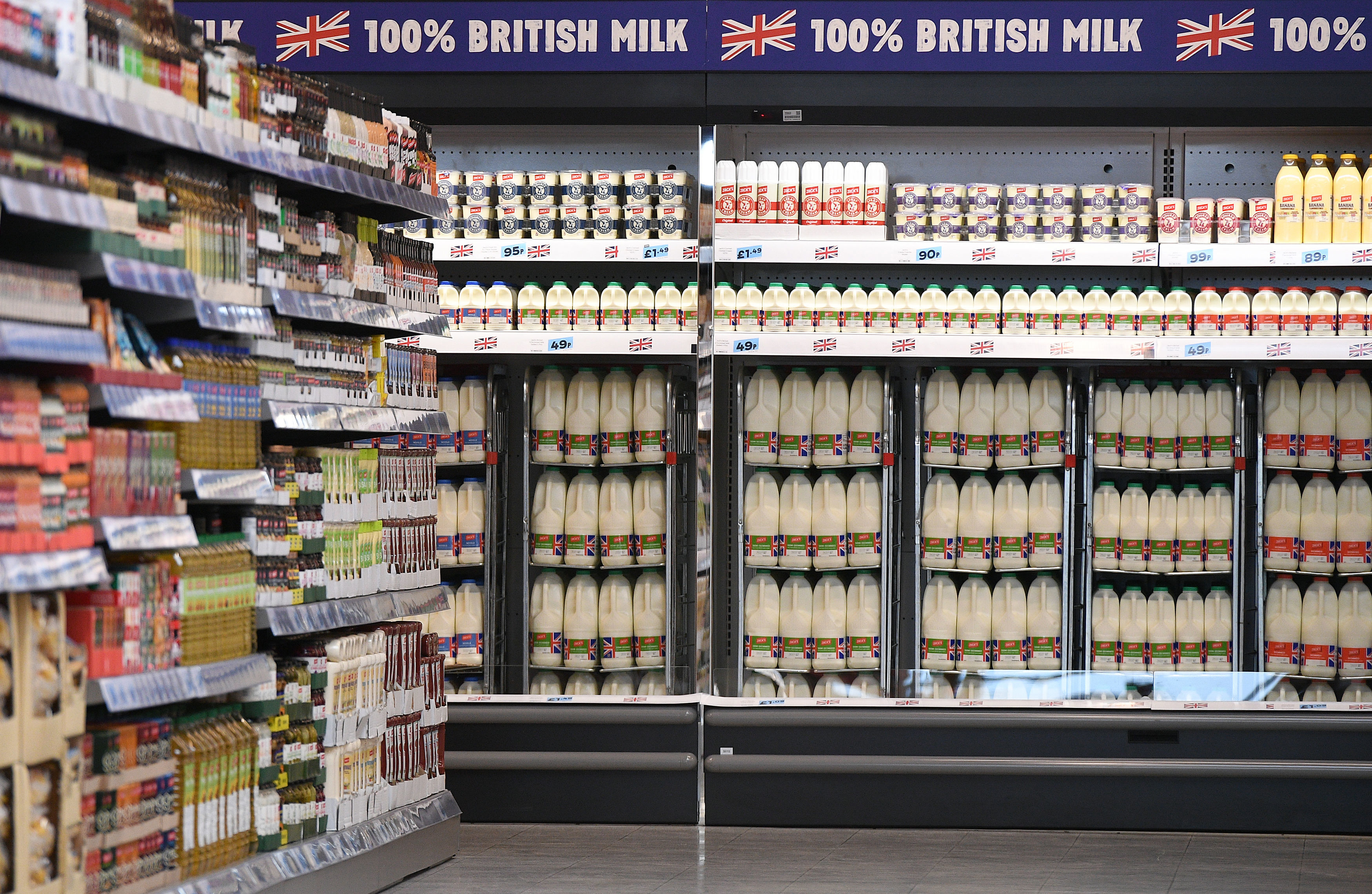 What do shoppers think of the new Jack's brand launched by Tesco?