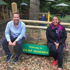 Camp Mohawk Matt and Michelle