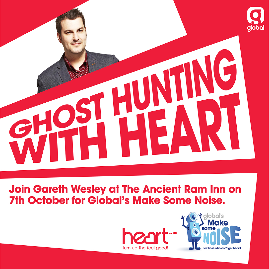 Celebrity Ghost Hunting With Gareth Wesley