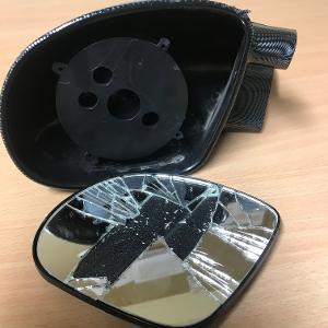 Purton hit and run mirror 2