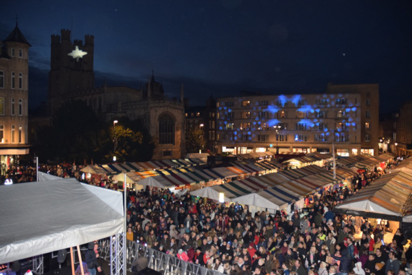 Cambridge Christmas Lights Assets