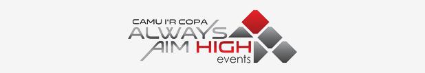 always aim high logo 618