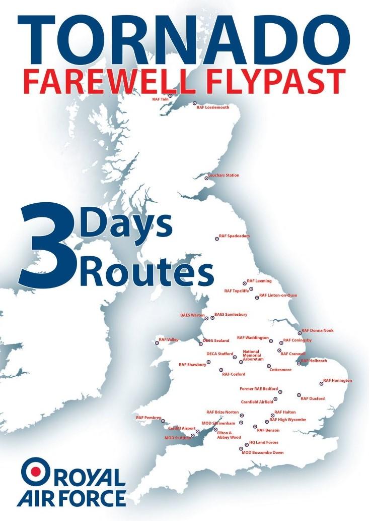 Tornado RAF Finale flights