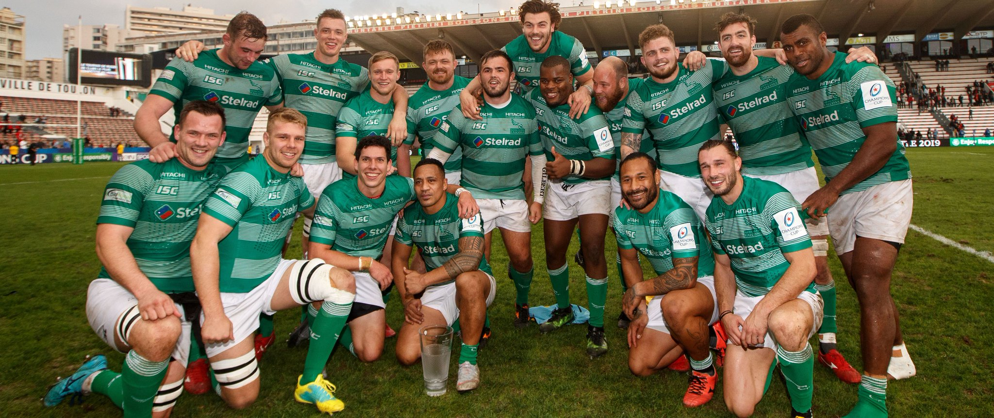 Newcastle Falcons team