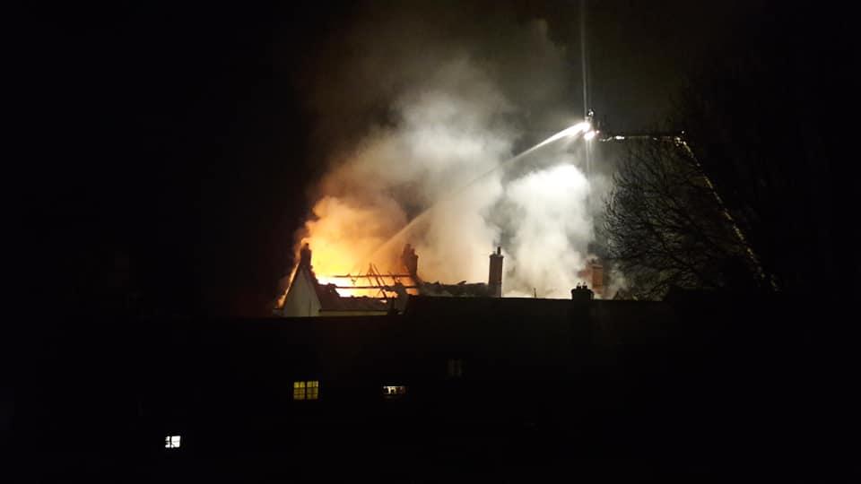 Fire in Bradninch